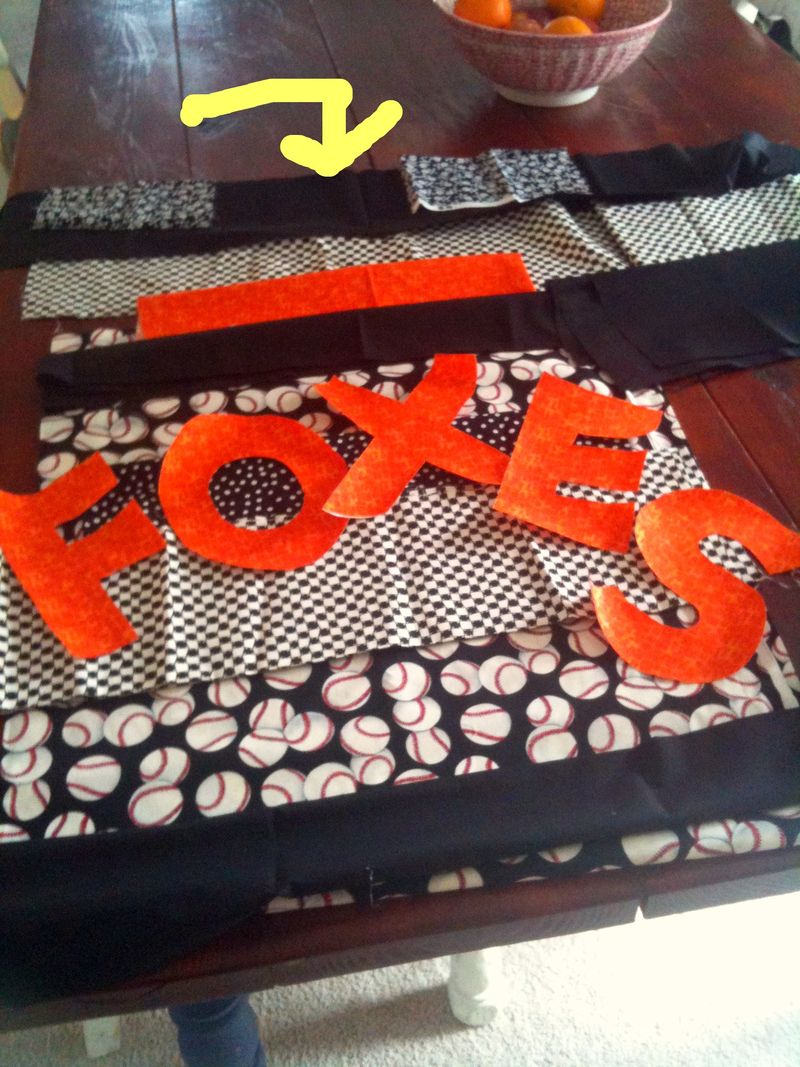 Foxes quilt fabrics