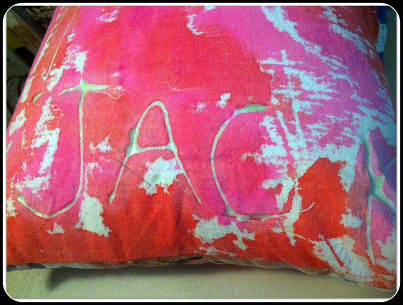 Jacks portrait pillow JACK