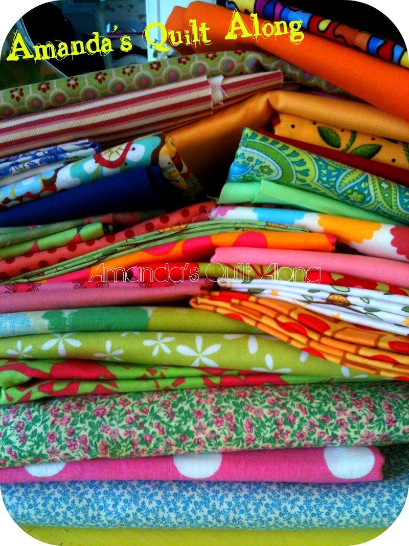 Amanda's quilt along fabric