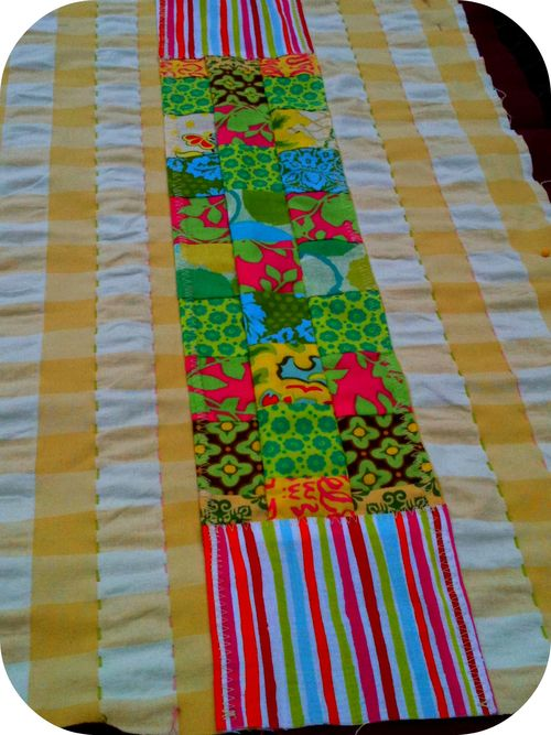 Table runner started
